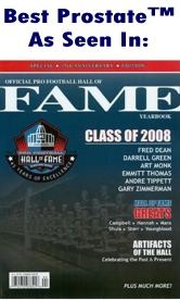 NFL 2008 Hall of Fame Magazine Cover